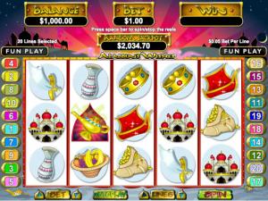 Aladdin's Wishes - Internet Slot Game