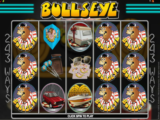 Bulls Eye 5-Reel Free Slot Game