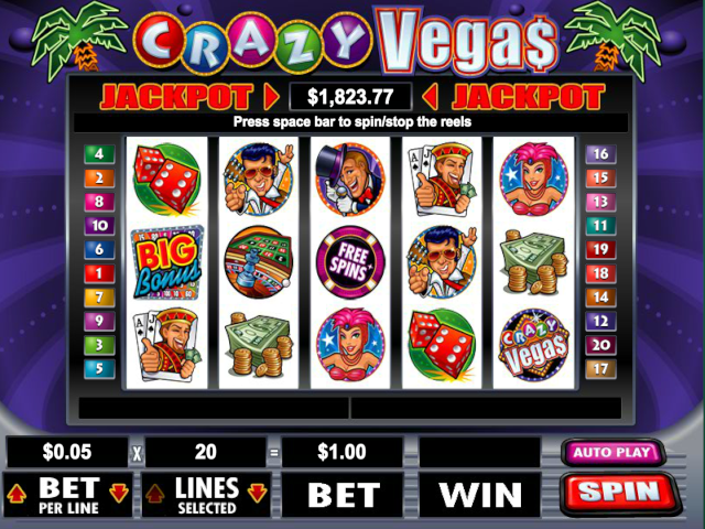 Crazy Vegas Free Slot Game