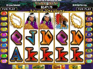 Aztec's Treasure - Internet Slot Game