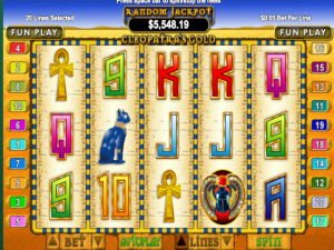 Cleopatra's Gold - Internet Slot Game
