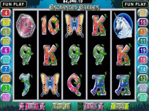 Enchanted Garden - Internet Slot Game