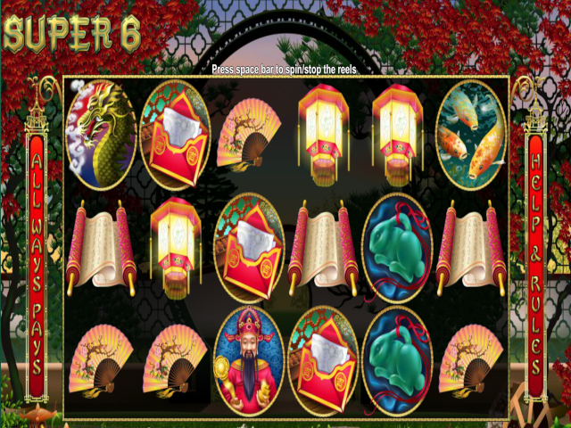 Super 6 Free Slot Game