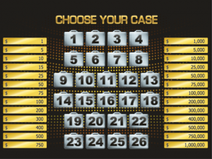 Deal or no Deal - Internet Slot Game