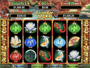 Lucky Tiger - Internet Slot Game