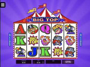 Big Top - Internet Slot Game
