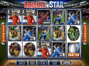 Cricket Stars - Internet Slot Game