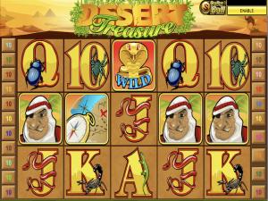 Desert Treasure - Internet Slot Game