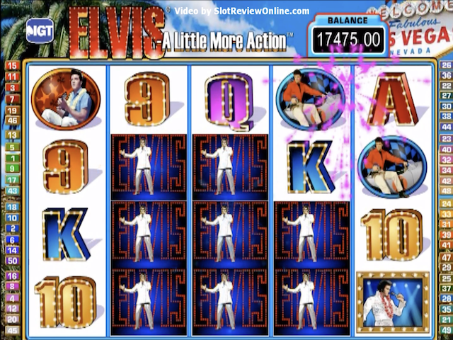 Elvis the King Free Slot Game