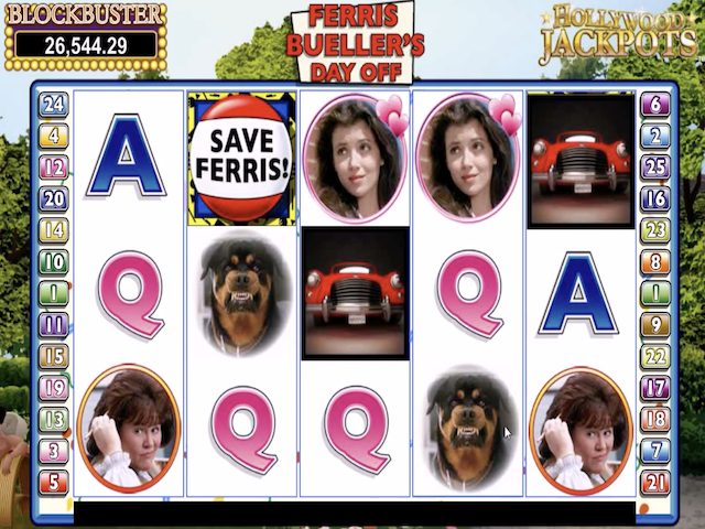 Ferris Bueller's Day Off Free Slot Game