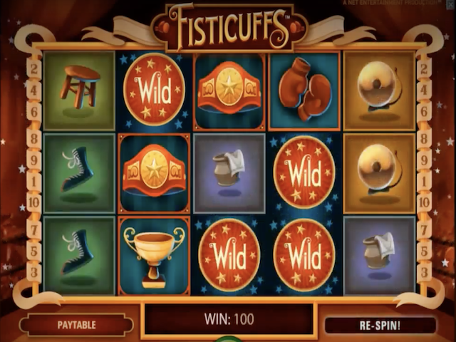Fisticuffs Free Slot Game